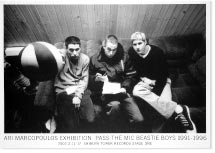 ARI MARCOPOULOS EXHIBITION / PASS THE MIC BEASTIE BOYS 1991-1996